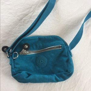 Blue Kipling crossbody bag